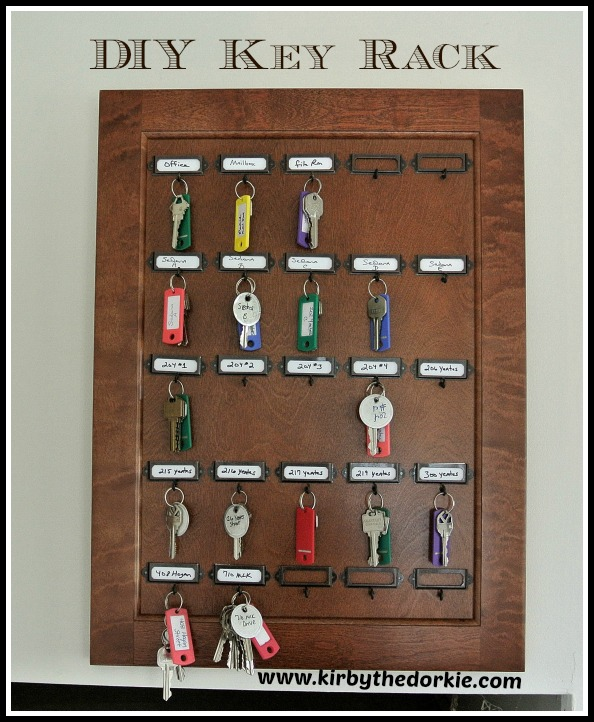 DIY Key Rack