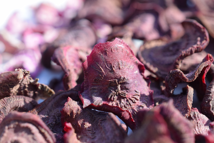Red Beet chips 2