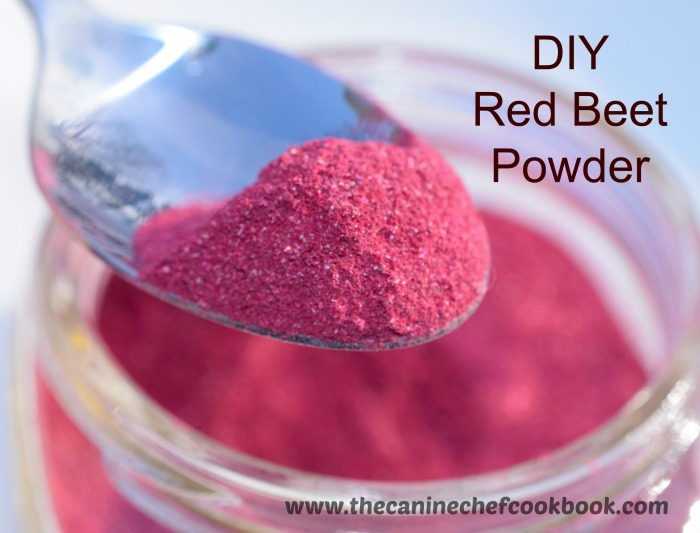 DIY Red Beet Powder