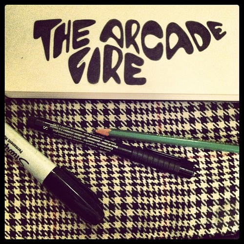 Arcade+Fire+sketch+sharpie+grezak+logo