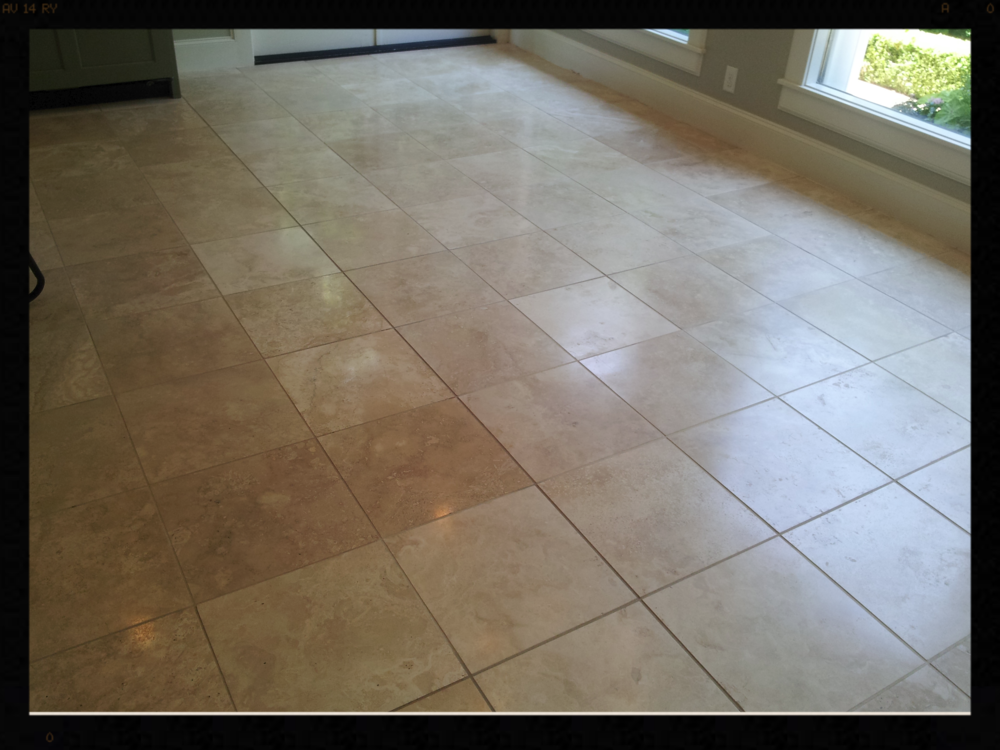 Polished Travertine