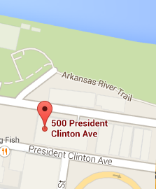 Senator Pryor's office and the Arkansas River Trail