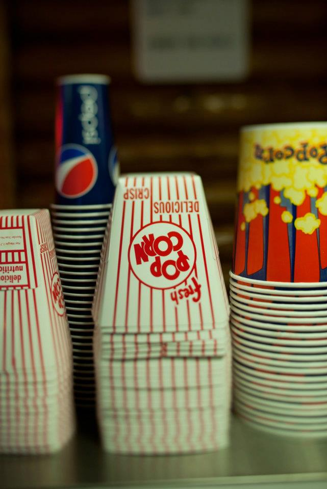 Popcorn Boxes. Taken By Pauline Boldt