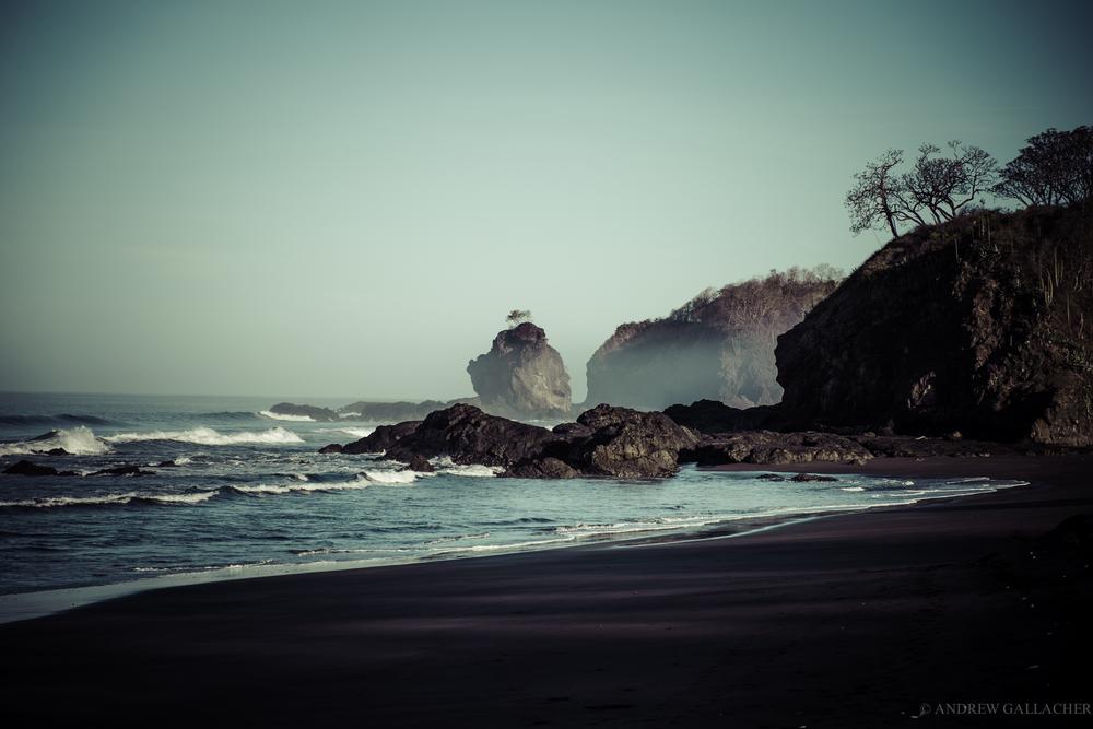 Ostianal beach, Costa Rica