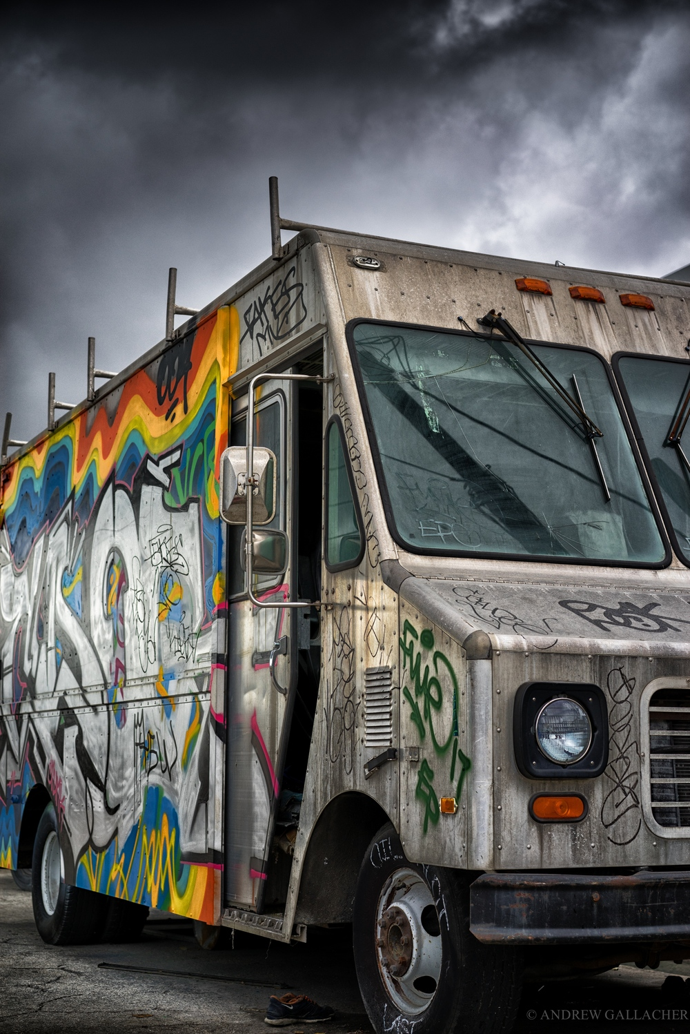 A7R in the Wynwood district of Miami.