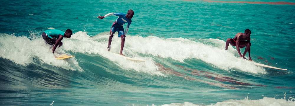 Surf Haiti - a project teaching kids to surf in Jacmel, Haiti.