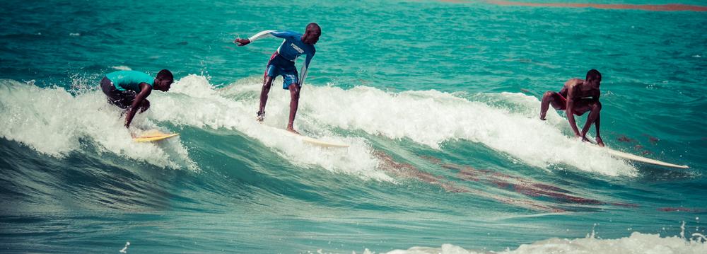 Surf Haiti - a project teaching kids to surf in Jacmel, Haiti.