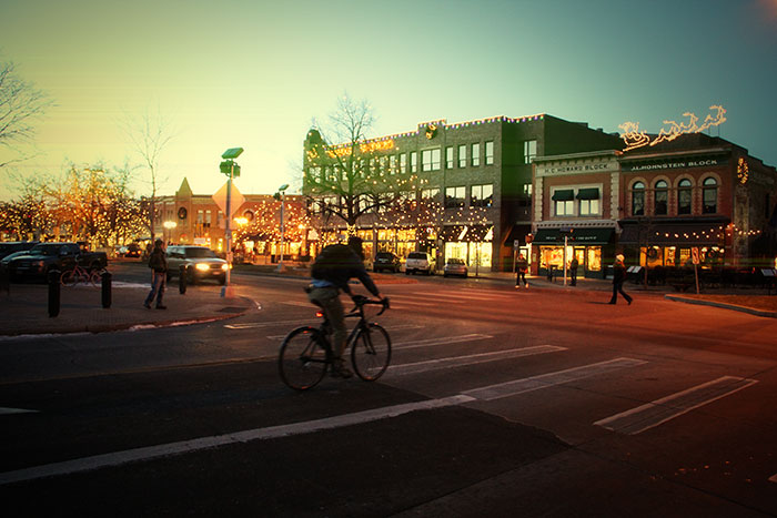 downtown Fort Collins photography photos