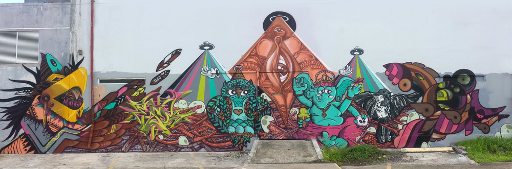 Painted with Coro Crew in Puerto Rico 2014.