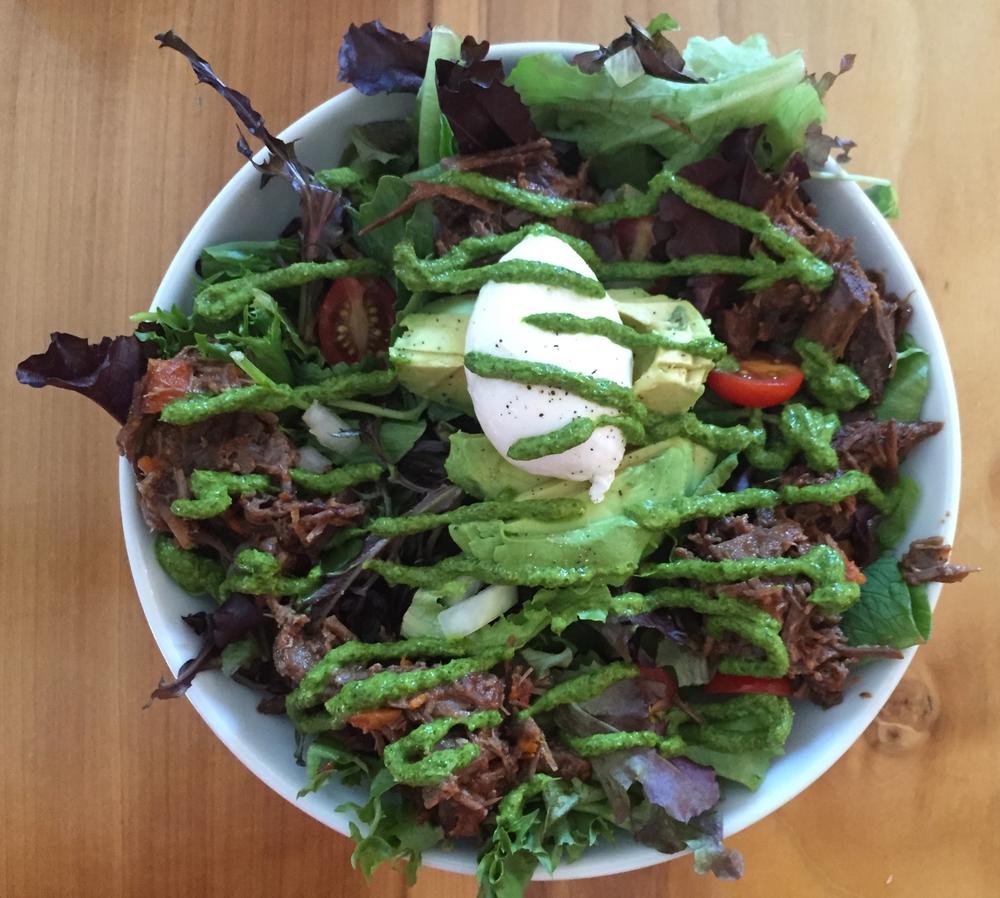 Chimi Beef Salad from Hi Volt