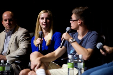 L-R: Allen Fazio, Ashley Fazio, Zack Basile | Foodable WebTV Network