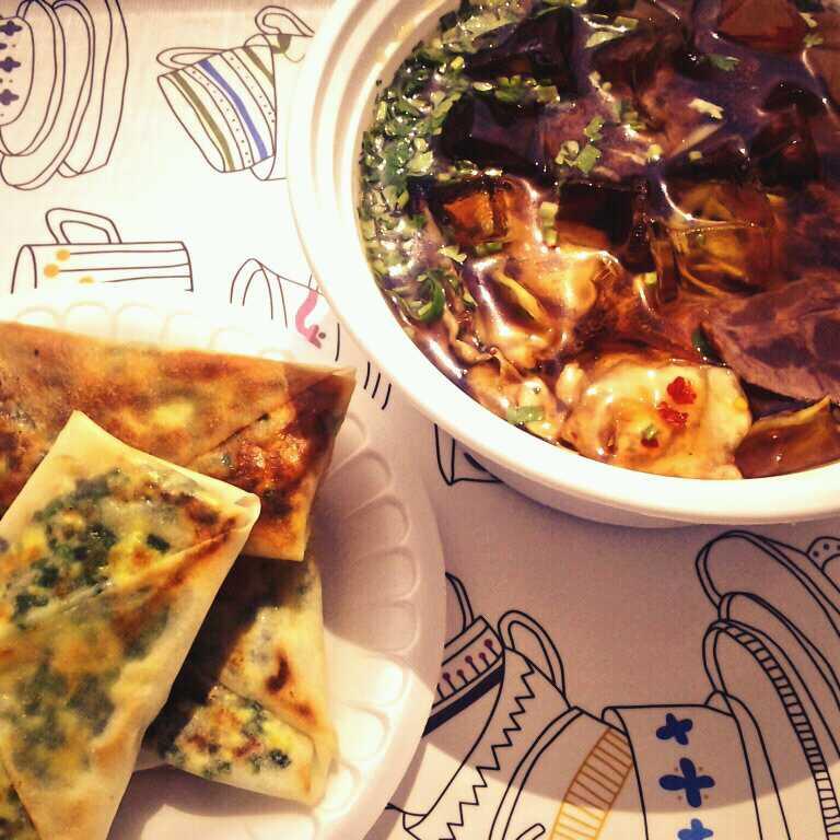 Korean Cold Noodle & Kathy's Special Pancake