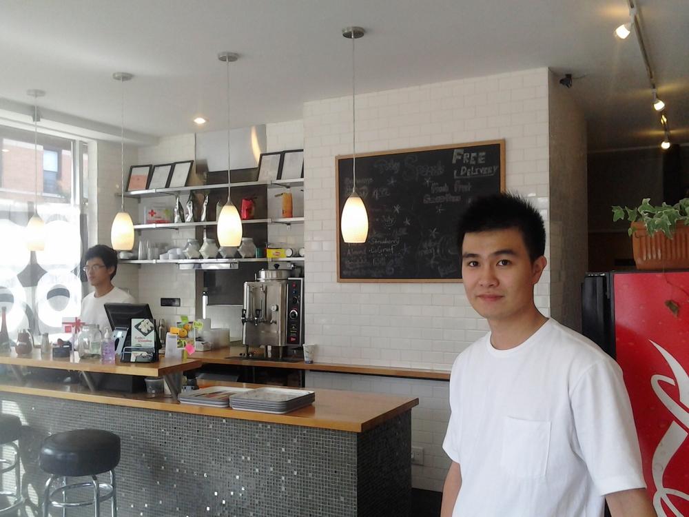Nick, co-owner at Kathy's Dumplings