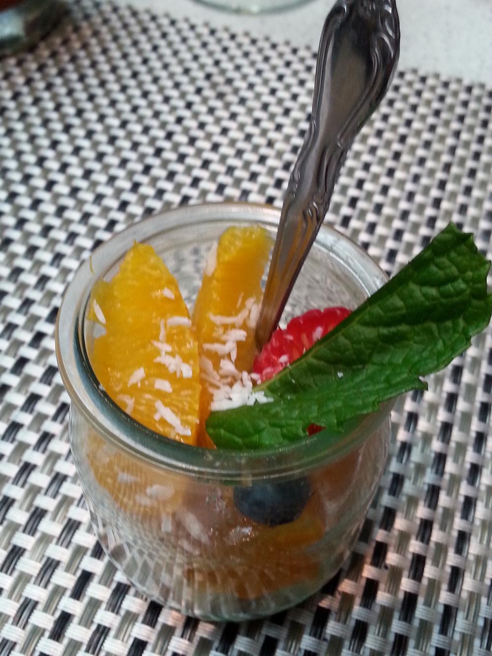 Summer Berry Tart in a jar