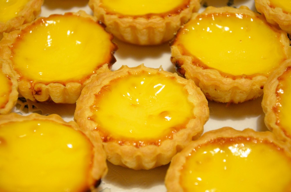 Foodable WebTV Network |  Pictured: Hong Kong-style egg tart  |  Photo Credit: YouTube