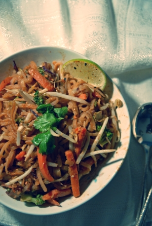Foodable WebTV Network |  Pictured: Noodles & Company'sIndonesian PeanutSauté