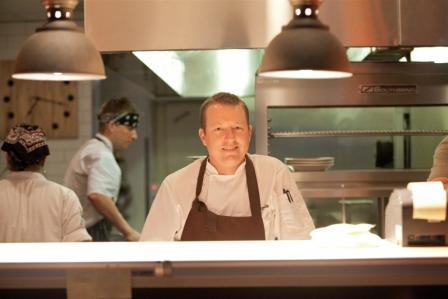Foodable WebTV Network |  Pictured: Chef Justin Beckett in his kitchen