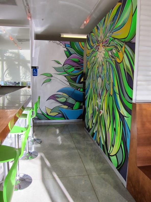 Artwork by Ian Ross, The Juice Spot