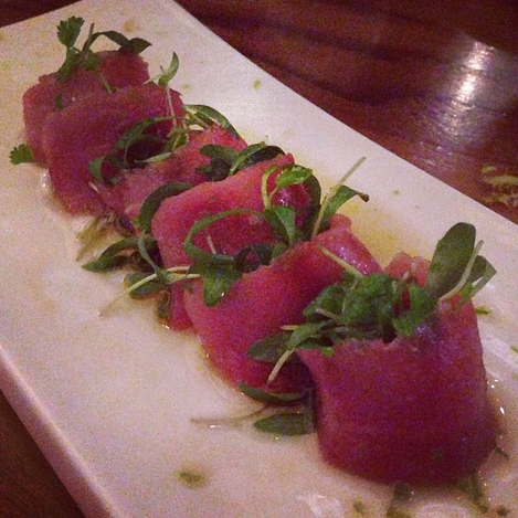 Spicy Tuna Tataki | Photo Credit: Instagram
