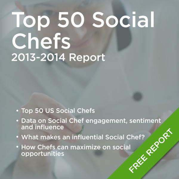 Top 50 Social Chefs Report (2013-2014)