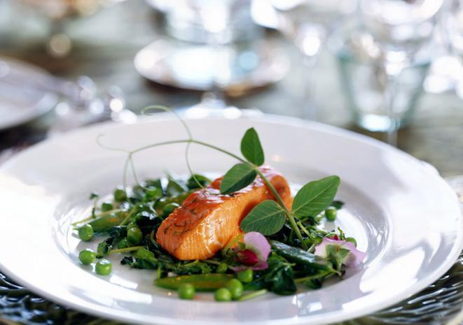 Spring King Salmon | TheHerbfarm.com