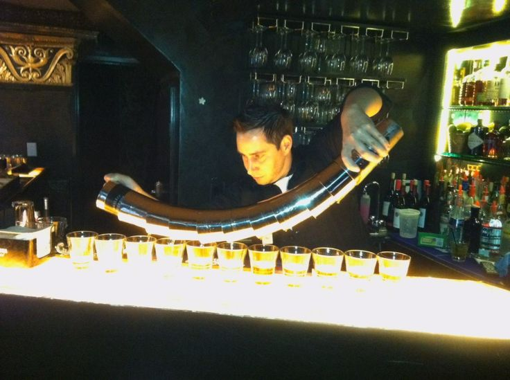 Flare Bartender at Velvet Lounge | Photo Credit: Velvet Lounge at the Culver Hotel