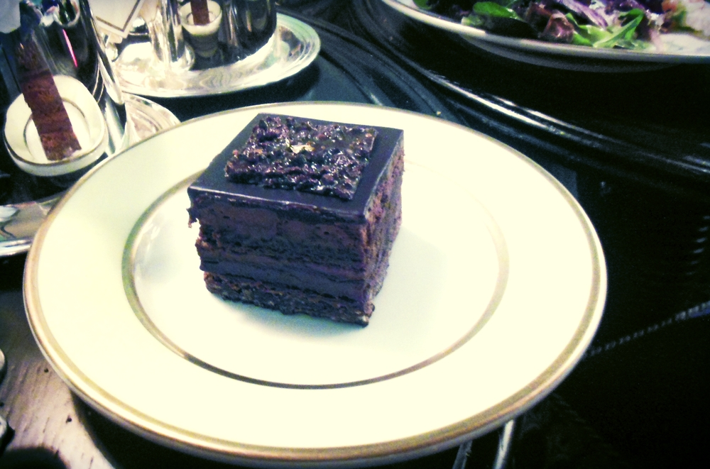 Chocolate Pastry from Ladurée Tea Salon | Foodable WebTV Network
