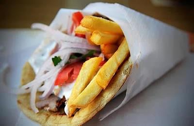 Eat Greek's Lamb Gyro Pita