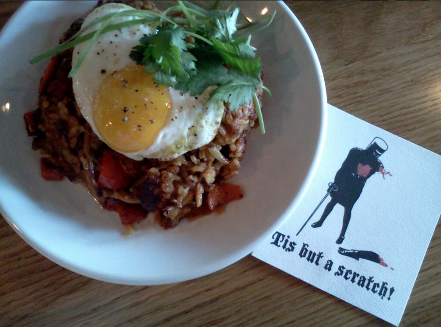 Pork Fried Rice from Alberta Street Pub  | Photo Credit: Twitter/@DailyBlender