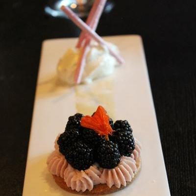 Blackberry Tart from Palo Alto Grill  | Photo Credit: Carolyn Jung/Facebook