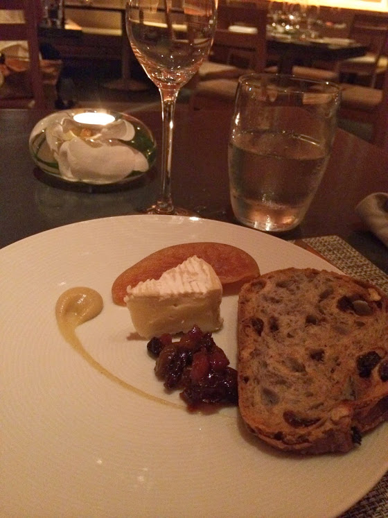 Camembert Cheese — Apple Calvados, Dried Fruit Chutney, Walnut Raisin Toast