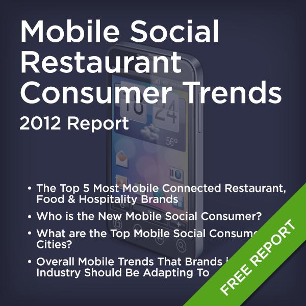2012 Mobile Social Restaurant Consumer Trends