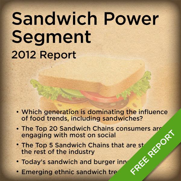 Sandwich Power Segment - 2012 Report