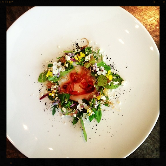 """Spring Thaw"" salad [tasting menu] 