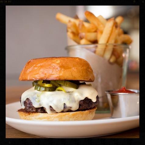 CBD Provisions Burger |Credit: Instagram, cbdprovisions