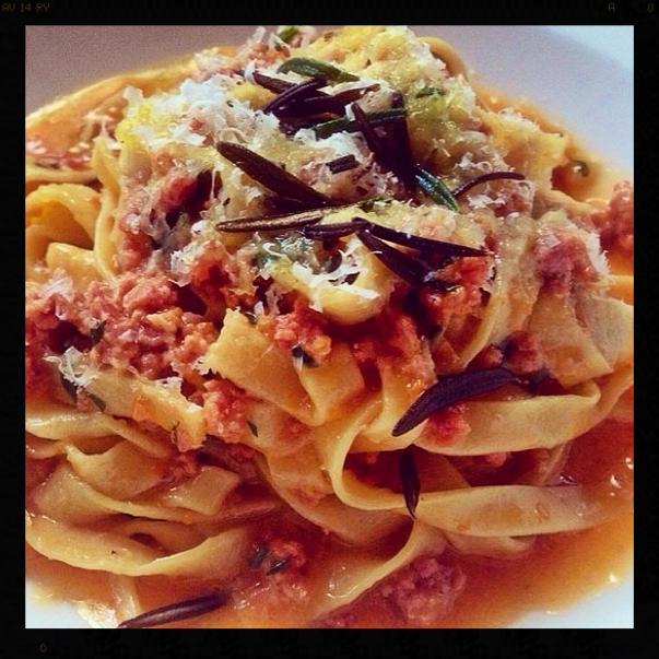 Tagliatelle |Credit: Instagram, yeezypeezy
