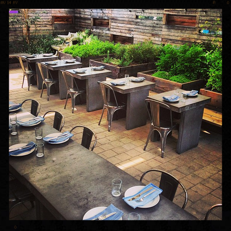 Bar Agricole Patio | Credit: Instagram, baragricole