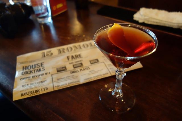 Socialites & Cigarettes cocktail, 15 Romolo | Foodable WebTV Network