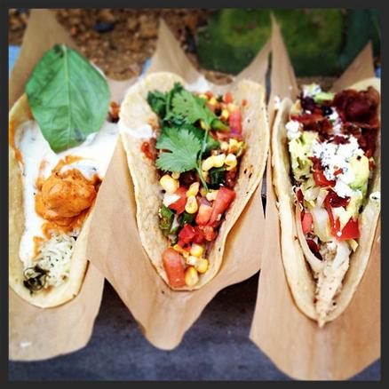 Velvet Taco tacos! | Credit:  Instagram