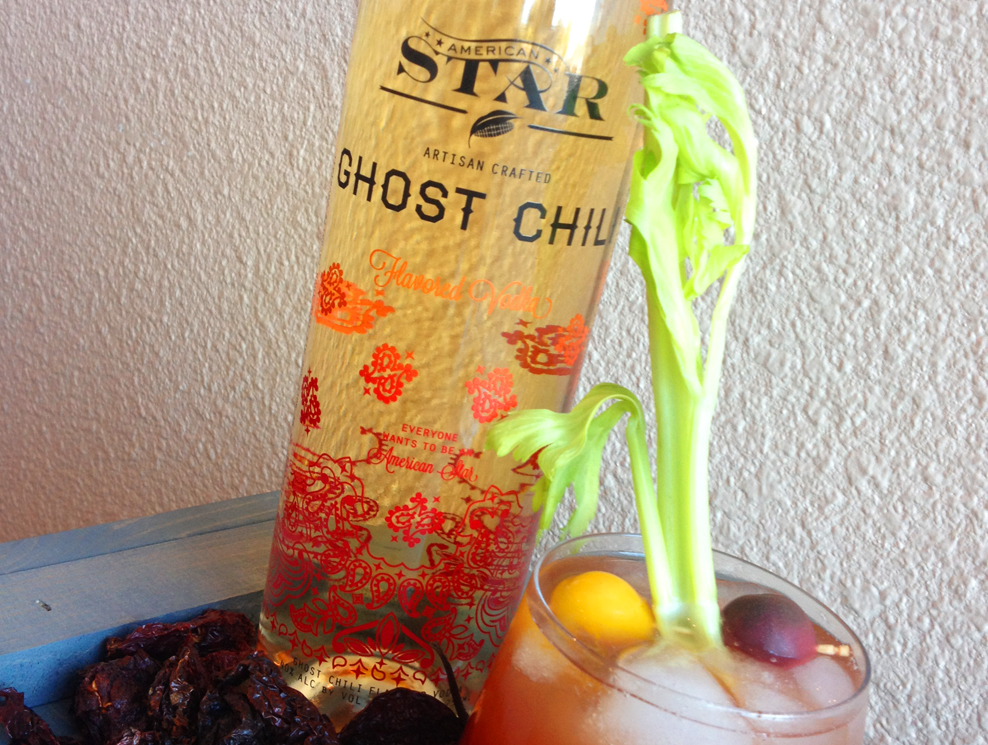 Ghost Chili Pepper Vodka  | Credit: Tenley Fohl Photography