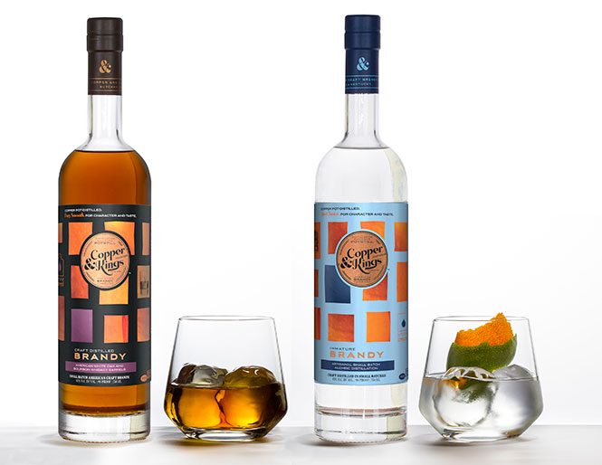 Copper & Kings Brandy  | Credit: Copper & Kings