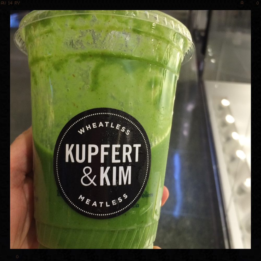 Green Smoothie, Kupfert & Kim | Foodable WebTV Network