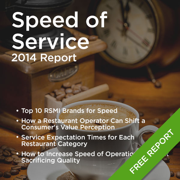 Speed of Service - 2014 Report