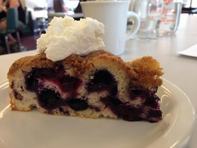 Blueberry Buckle at Dime Store  | Foodable WebTV Network