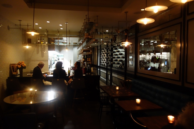 Interior restaurant setting at Maude | FOODABLE WEBTV NETWORK