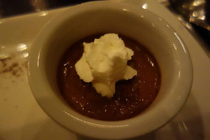 Chocolate Pot De Crème at n/naka | FOODABLE WEBTV NETWORK