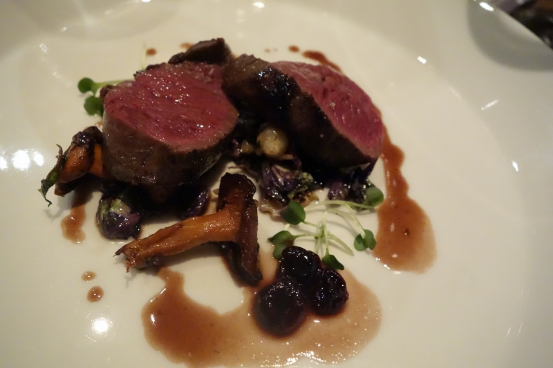 Venison at Orsa & Winston | FOODABLE WEBTV NETWORK
