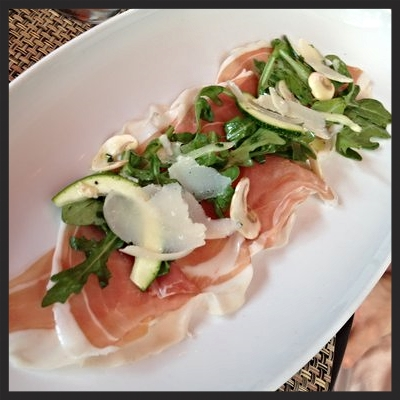 Prosciutto Appetizer at Rialto  | YELP, Kat B.