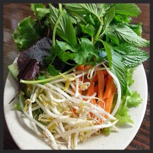 Vietnamese Vegetables at La'Me| YELP, Rex M.
