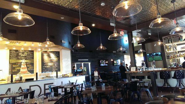 Interior view of Made L.V. American Tavern  | YELP, Terri R.